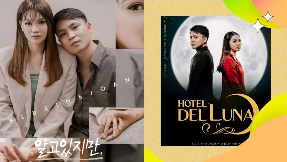 This Pinoy Couple Recreated the *Cutest* K-Drama Posters for Their Prenup Shoot