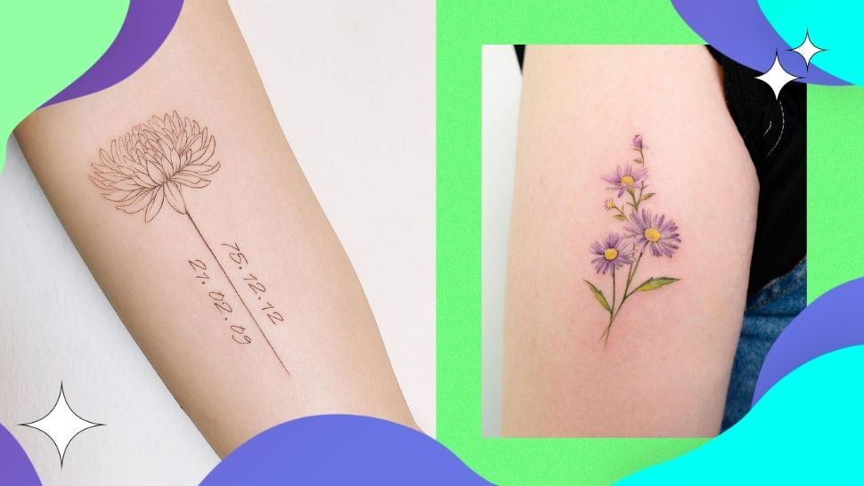 Flower Tattoo Ideas to Try, According to Your Birth Month