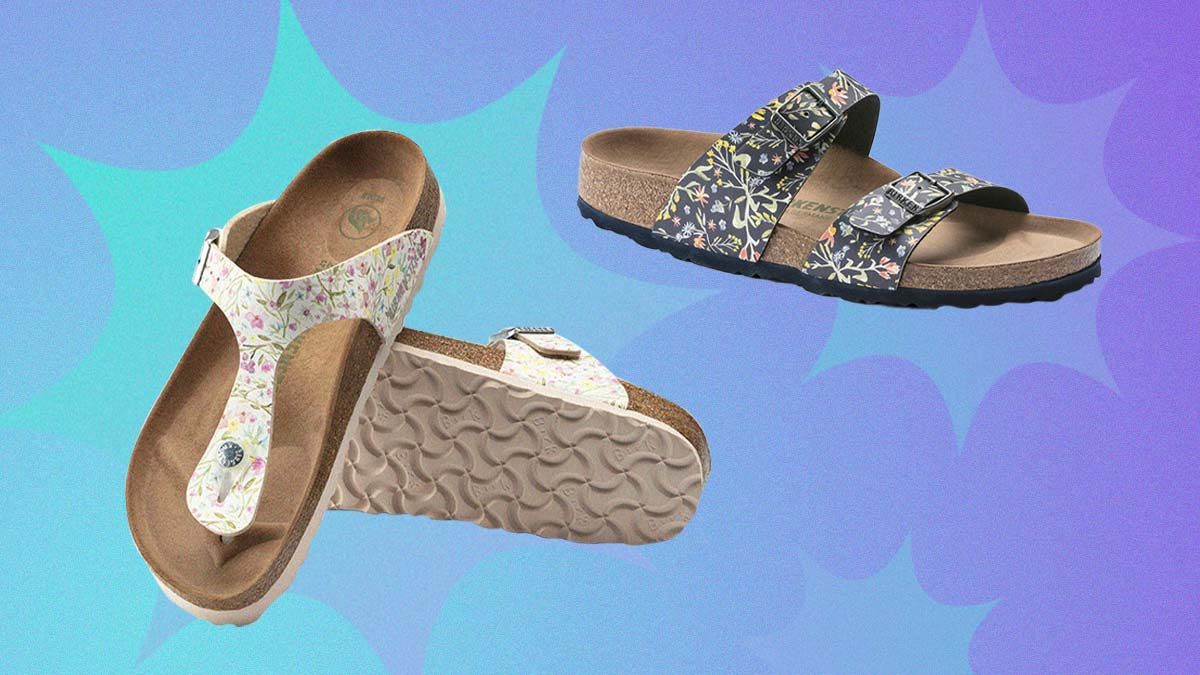 So Pretty! We're in Love with These New Floral Birkenstock Sandals