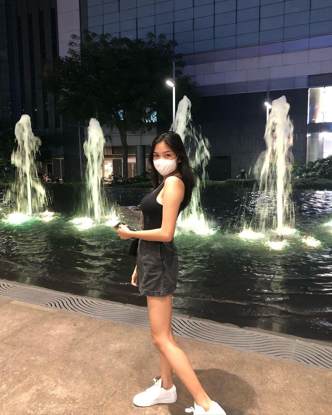 Nina stephanie guerrero posing tall on Instagram