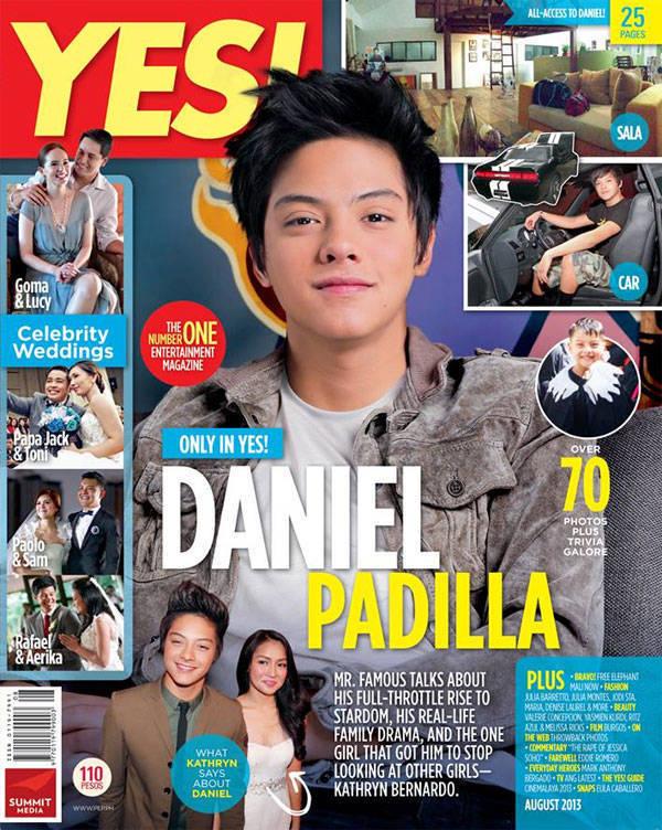 Daniel Padilla on Yes! magazine