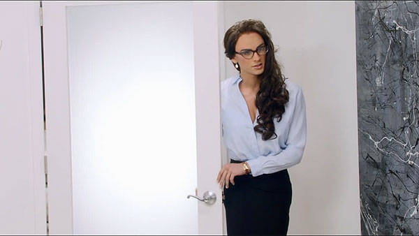 "Zayn Malik as Veronica in One Direction's ""Best Song Ever"""
