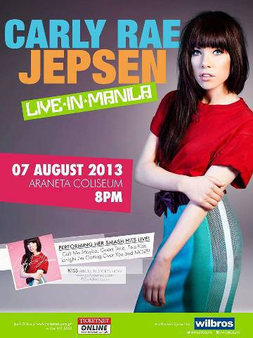 Carly Rae Jepsen Live In Manila on August 7