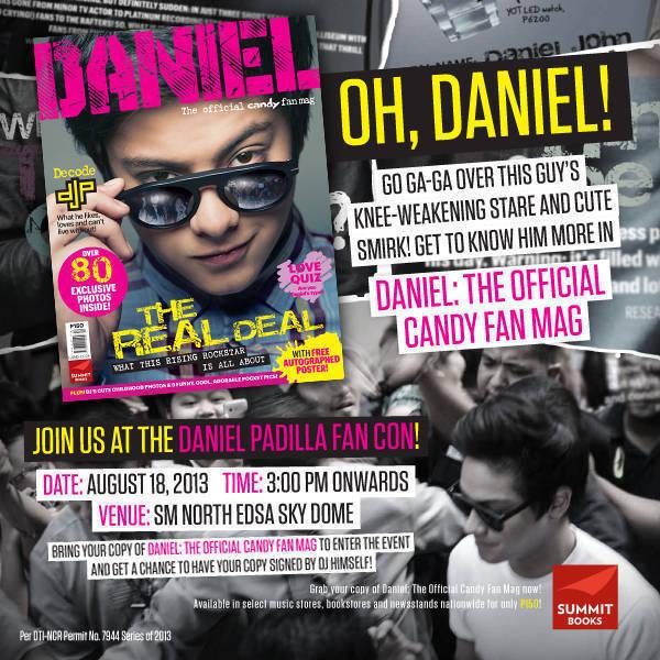 Daniel, official Candy fan mag