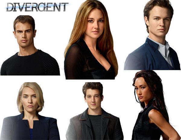 cast of Divergent