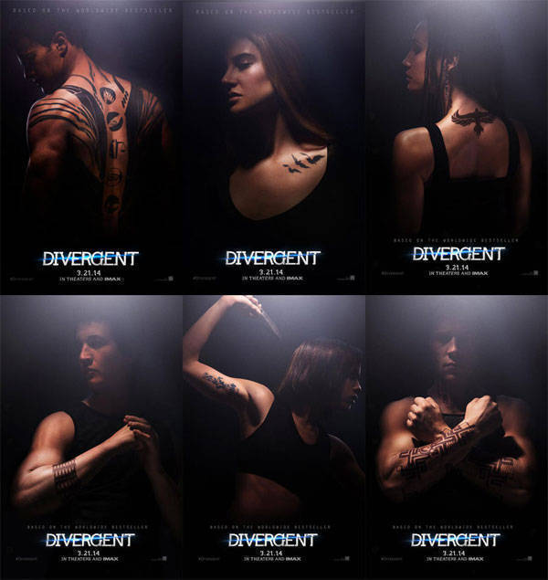 Divergent posters