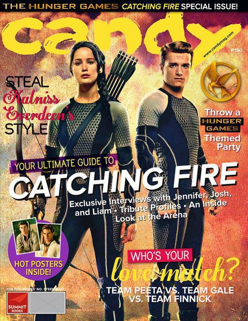 Candy's Catching Fire Fan Magazine