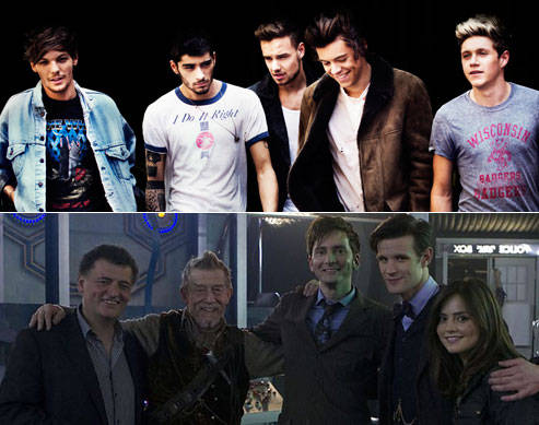 One Direction x Doctor Who