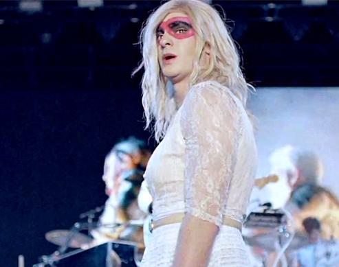 WATCH: Andrew Garfield Dressed In Drag Dances Like Nobody's Watching In Music Video