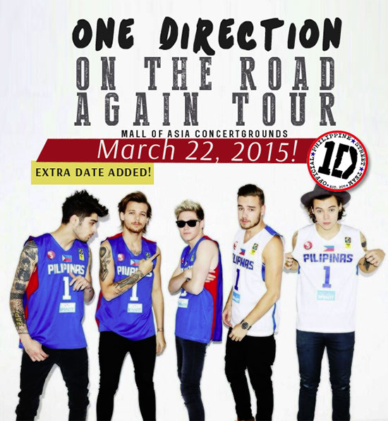 One Direction On the Road Again Tour Day 2 in Manila