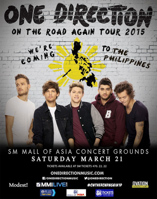 One Direction in Manila
