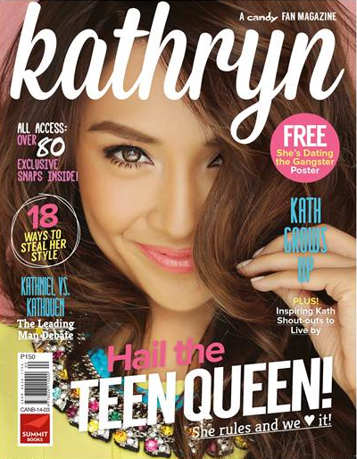 Candy Launches the Kathryn Bernardo Fan Magazine