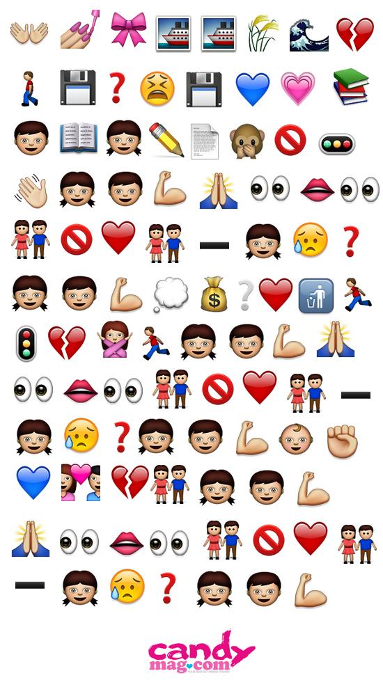 One Direction song lyrics in emojis