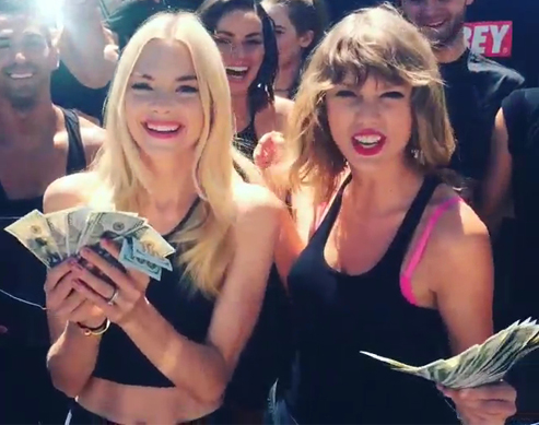 Taylor Swift, Jamie King, Selena Gomez, And More Celebs Do The Ice Bucket Challenge