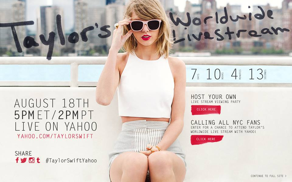 3 Theories On Why Taylor Swift Is Holding Another Live Stream Event
