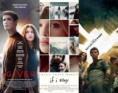 Movie Poll: The Giver, If I Stay, The Maze Runner