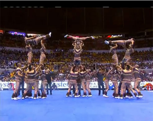 NU, UP, and UST Win at This Year's UAAP Cheerdance Competition