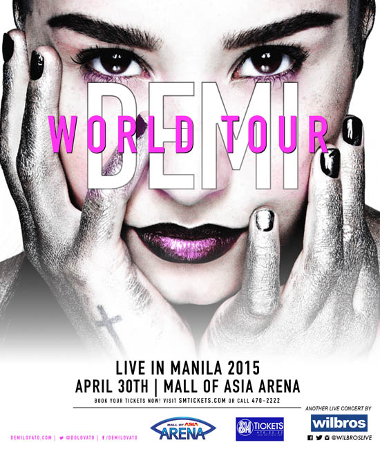 Demi Lovato World Tour in Manila