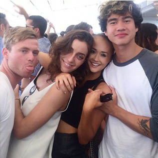 Jennifer Phipps and Calum Hood in Sydney