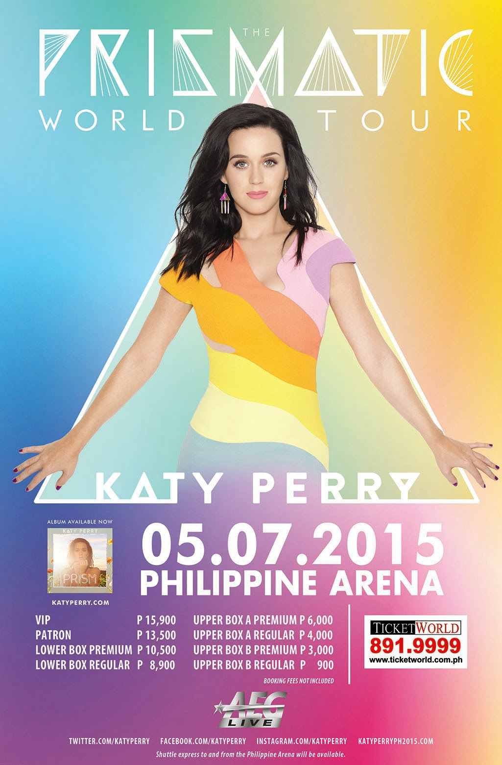 The Prismatic World Tour Katy Perry