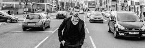 Theo James Flaunt Magazine