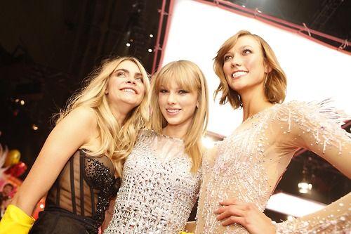 Cara Delevingne Taylor Swift Karlie Kloss