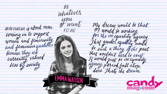 Quotes from Emma Watson's He for She Facebook Chat