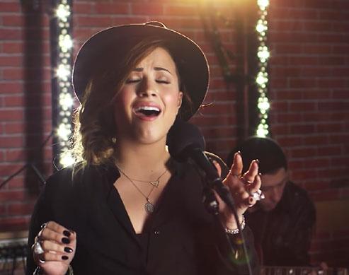This Demi Lovato Cover of Ed Sheeran's
