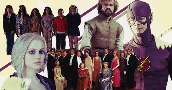 Scream Queens, Game of Thrones, iZombie, The Flash, Downton Abbey