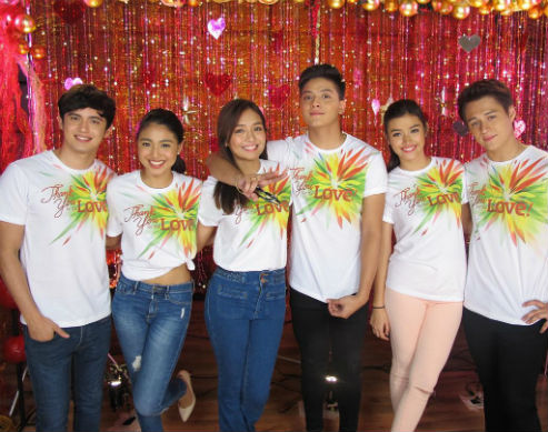 KathNiel, JaDine, and LizQuen Team Up For Christmas   Candy