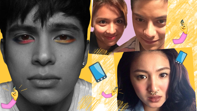 Selfies: James Reid, Kathryn Bernardo, Daniel Padilla, Nadine Lustre