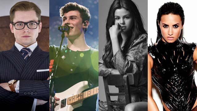 Taron Egerton, Shawn Mendes, Selena Gomez, Demi Lovato Make It To Forbes' 30 Under 30 2016