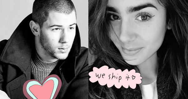 Nick Jonas Lily Collins