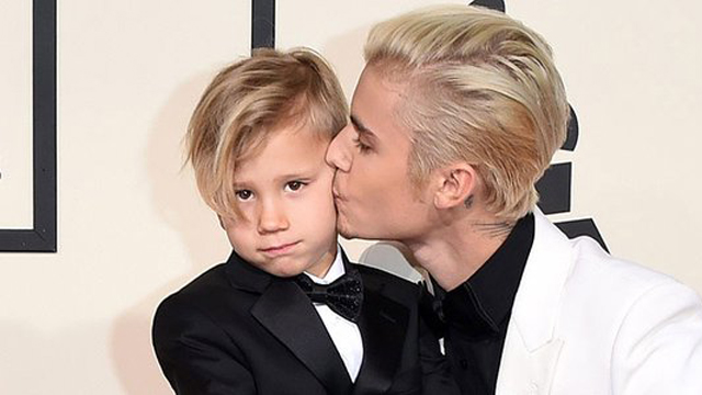 Justin Bieber Brought His Little Brother to the Grammys and It's the Cutest Thing Ever
