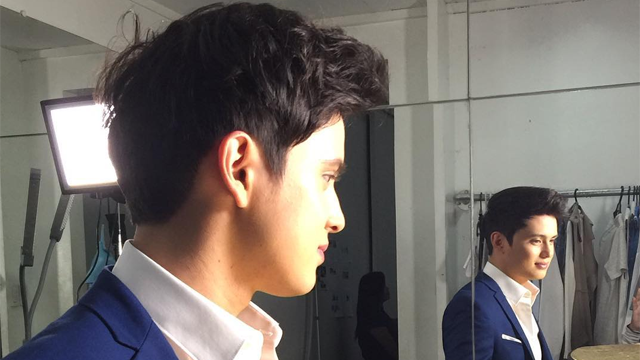 SPOTTED: James Reid Taping for Something in Marikina