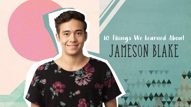 10 Things We Learned About Jameson Blake