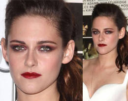 Get The Look: Kristen Stewart's Red Smokey Eyes