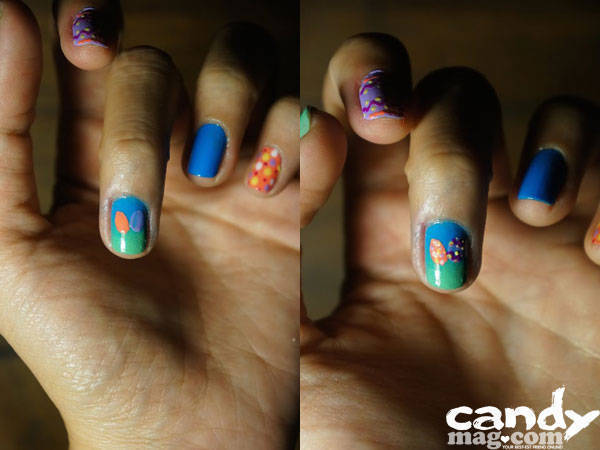 Summer Nail Art: Easter Egg Hunt