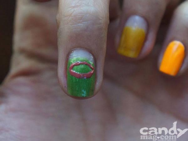 Summer Nail Art: Fruity