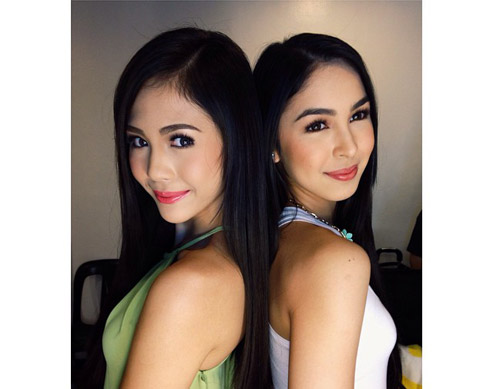 Janella Salvador and Julia Barretto: Get Their Healthy Straight Hair