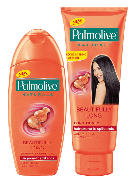 Shampoo and contioner, Palmolive.