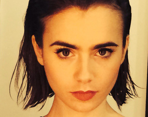 Lily Collins Just Chopped Her Hair and We're Totally In Love