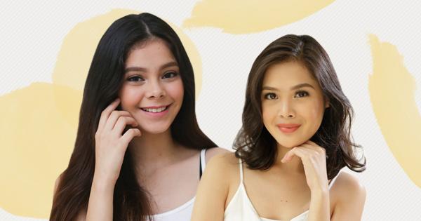 2 girls smiling