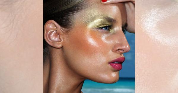 oily skin photo