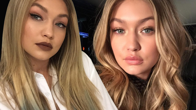 Gigi Hadid Chopped Off Her Hair at the #AMAs and We're in Lob