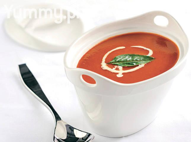 Grilled Tomato Soup