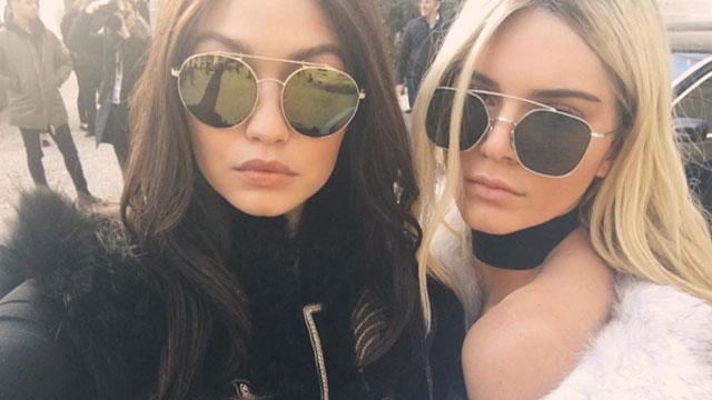 Kendall Jenner and Gigi Hadid See Your Face Swap and Raise You a Hair Swap