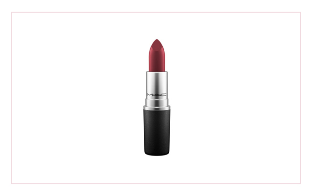 Matte lipstick in Diva, P1,000, MAC
