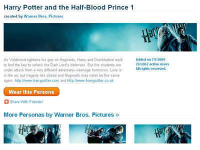Harry Potter Personas