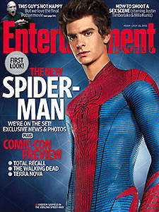 Andrew Garfield on Entertainment Weekly's cover